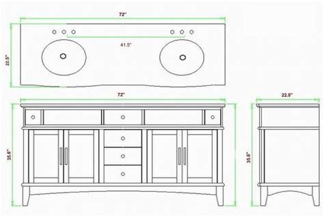 bathroom vanity tower dimensions 72 inch brunswick vanity