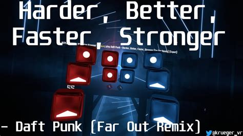 Beat Saber | Daft Punk - Harder, Better, Faster, Stronger ...