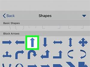 How To Type An Arrow In Microsoft Word On Iphone Or Ipad