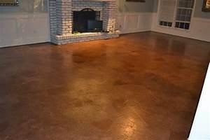 ruby bloom brown paper bag floor over concrete subfloor With brown paper bag floor on concrete