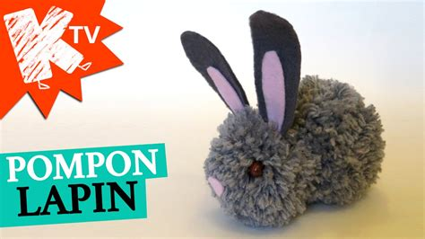 faire un pompon en faire un pompon lapin