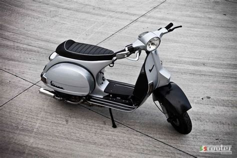 vespa px 200 from mild to slightly s s scooter