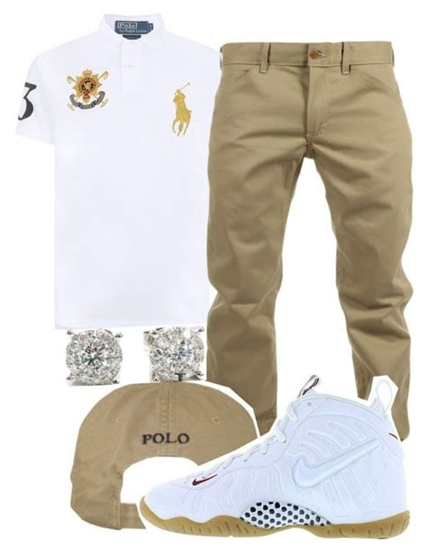 U0026quot;Untitled #52u0026quot; by young-rich-nvgga liked on Polyvore featuring Polo Ralph Lauren Woolrich NIKE ...