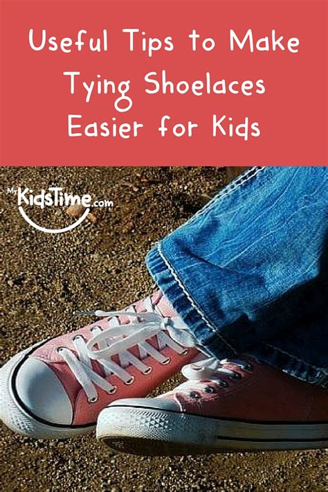 Useful Tips To Make Tying Shoelaces Easier For Kids