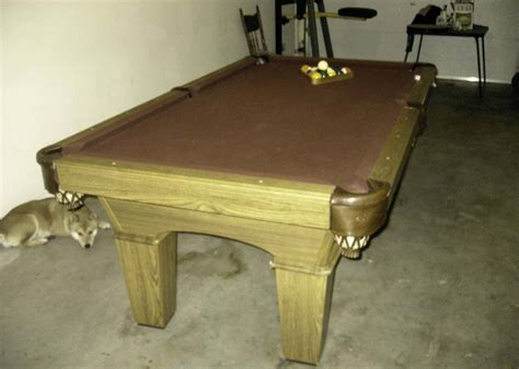 pool table for sale craigslist olhausen pool table for sale 1000 san francisco bay