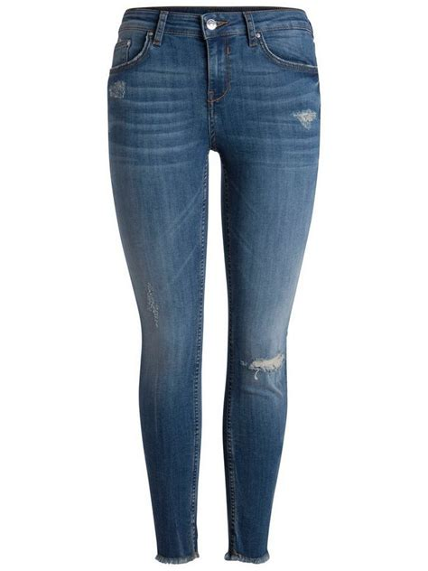 pieces normal waist jeans  kaufen otto