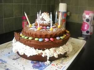 Image De Gateau D Anniversaire : recette g teau d 39 anniversaire chocolat 750g ~ Melissatoandfro.com Idées de Décoration