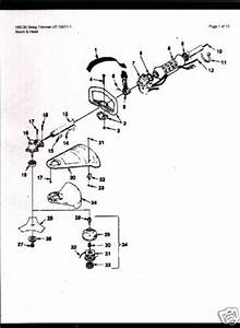 Homelite String Trimmer Hbc30 Parts List