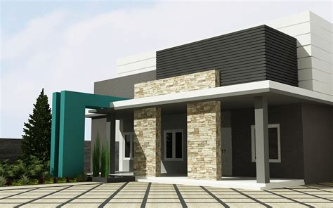 gambar model rumah atap dak  interior rumah