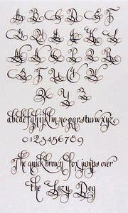 Best 25 Ideas About Calligraphy Alphabet Fonts