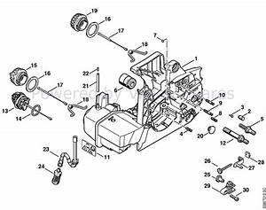 Stihl 029 Chainsaw Parts List