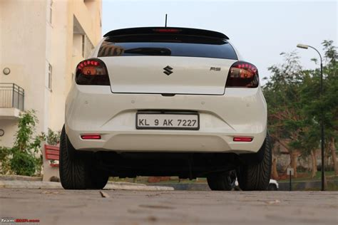 maruti baleno official review page  team bhp