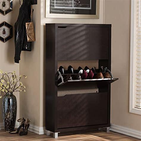 simms dark brown modern shoe cabinet baxton studio simms modern shoe cabinet dark brown buy