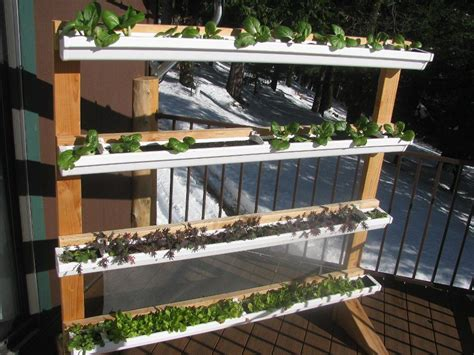 Gutter Vertical Garden by Vertical Gutter Gardens I Could Mount These On The