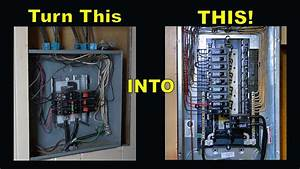 How To Upgrade Your Main Breaker Panel  Step By Step Guide