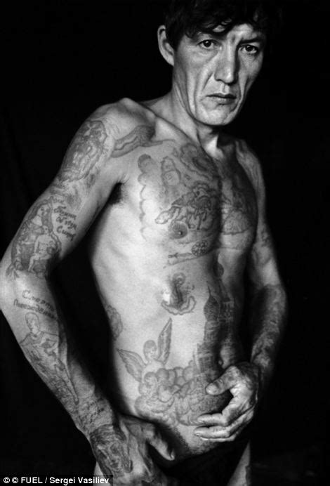 Symbols of a life of crime: The fading tattoos on Russia's
