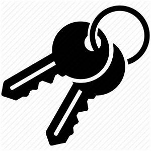 Access keys, access passwords, keychain, master key icon ...