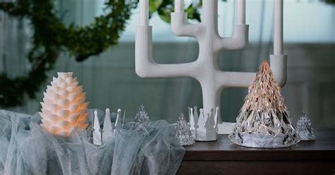 ikea holiday winter home collection  popsugar home