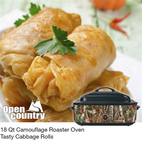 cabbage rolls in oven nesco blog 18 qt camouflage roaster oven tasty cabbage rolls