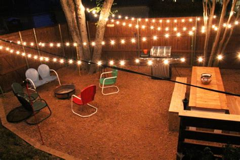 String Lights For Patio Ideas by Backyard Decorating Ideas W A Plea For Help Rhapsody
