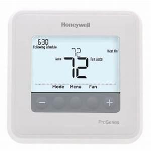 Honeywell T4 Pro Thermostat  U2013 Th4110u2005