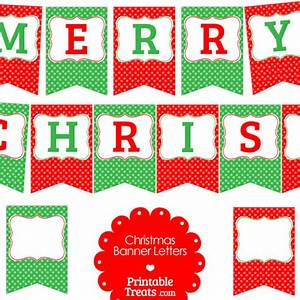 4 best images of free printable merry christmas lettering for Merry christmas letter banner