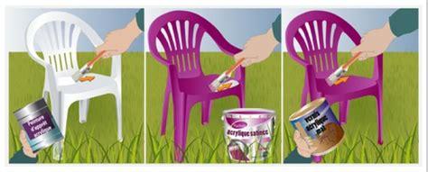 comment peindre des chaises de jardin en plastique bricobistro