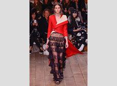 Alexander McQueen Runway Paris Fashion Week Womenswear