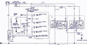 Circuit Panel  1991 Mazda B2600i Wiring Diagram