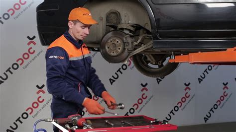 replace rear anti roll bar link  volvo