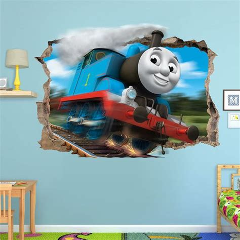thomas the tank 3d wall and engine on pinterest