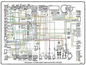 1979 Honda Cx500d Wiring Diagram