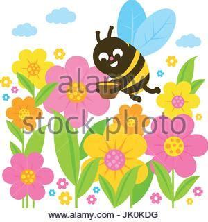 libro sui fiori un ape volare sui fiori in primavera in bianco e nero la