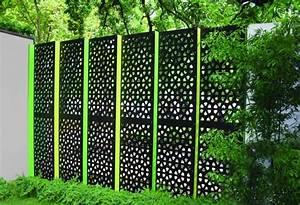 paravent de jardin plus de 50 idees orginales archzinefr With französischer balkon mit garten laser qvc