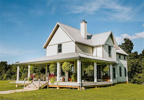 Exclusive 3 Bed Farmhouse Plan With Wrap-around Porch