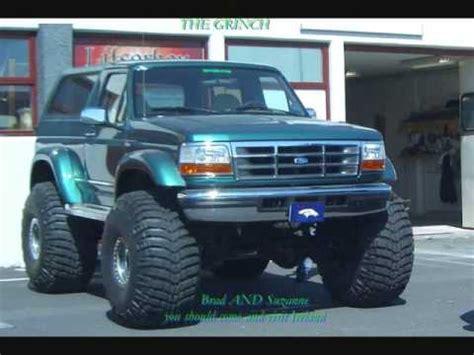 chevy trucks  ford broncos youtube