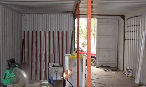 Container Home Construction The Section