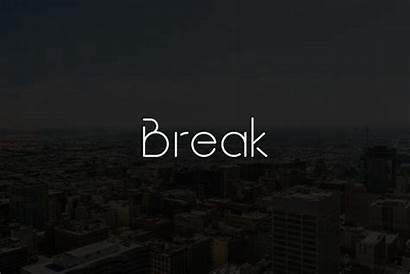 Break Font Fonts Typeface Photographers Behance Filtergrade