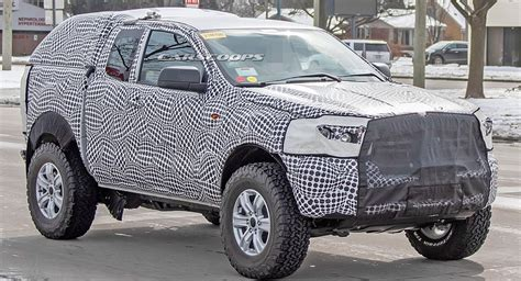 ford bronco mule possibly spied  pretty