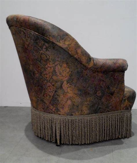 ancien fauteuil crapaud napol 233 on iii second empire