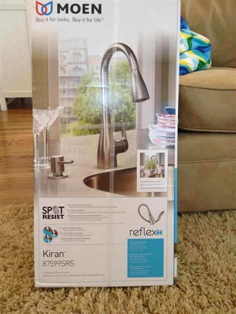 moen kiran faucet our brand spankin new moen faucet balancing home with