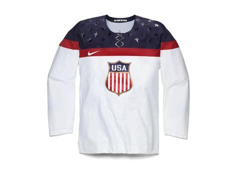 Nike Unveils 2014 Usa Olympic Hockey Jersey