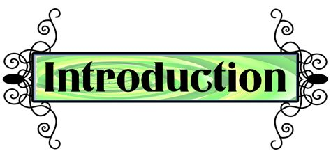 Introduction Clipart  Clipart Suggest