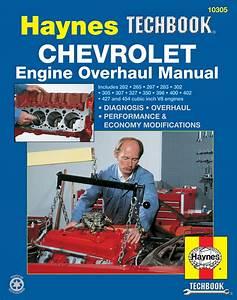 Chevrolet Engine Overhaul Haynes Techbook  Usa