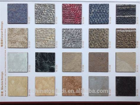 Anti static Pvc Vinyl Tiles/pvc Sheet Flooring With 3d