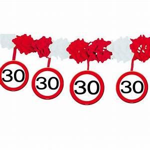 30 Dinge Zum 30 Geburtstag : wabenpapier girlande verkehrsschild 30 geburtstag 4 m ~ Sanjose-hotels-ca.com Haus und Dekorationen