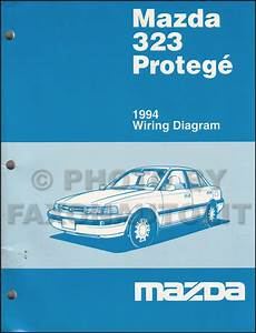 1994 Mazda 323 Repair Shop Manual Original