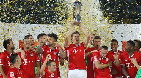 Die medien versuchen zwar regelmäßig dem ding eine. Bayern beats Dortmund to win German Super Cup - Sports Illustrated