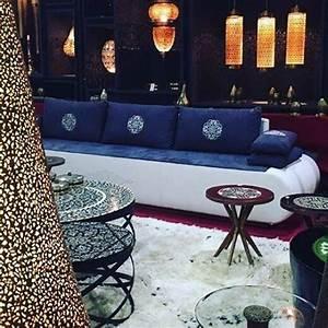 Salon Marocain Blanc : salons marocains archives page 3 sur 43 espace deco ~ Nature-et-papiers.com Idées de Décoration