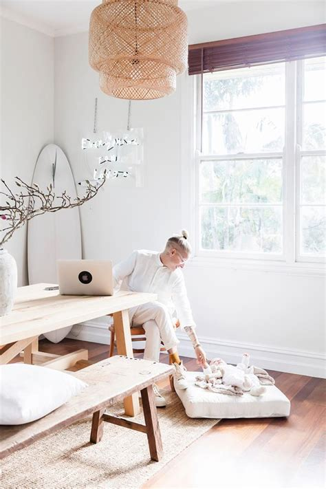 A Serene, Neutral Colored Cottage In Byron Bay  The Style